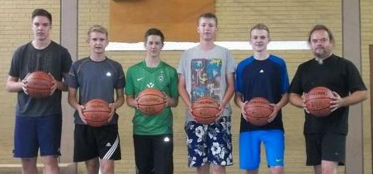 Die Basketballer stellen sich vor