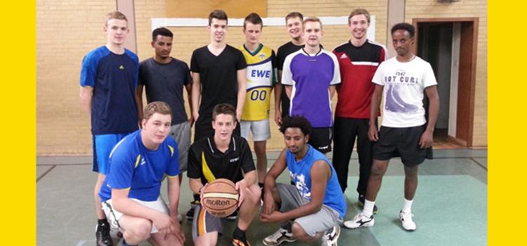Basketball zum Abschluss des Jahres 2014