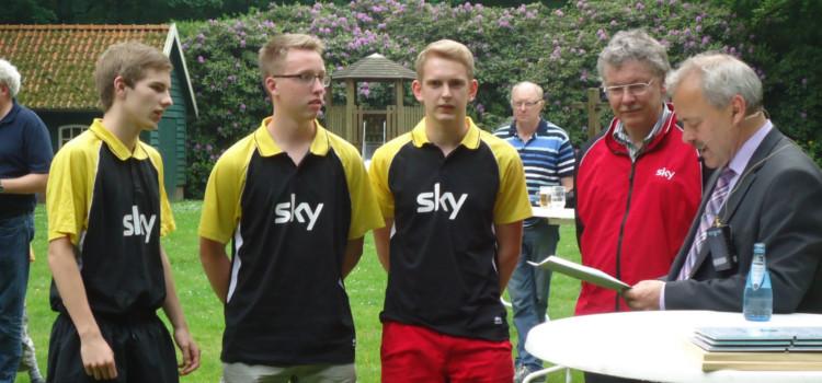 Tischtennis Meister in der Kreisliga Jungen