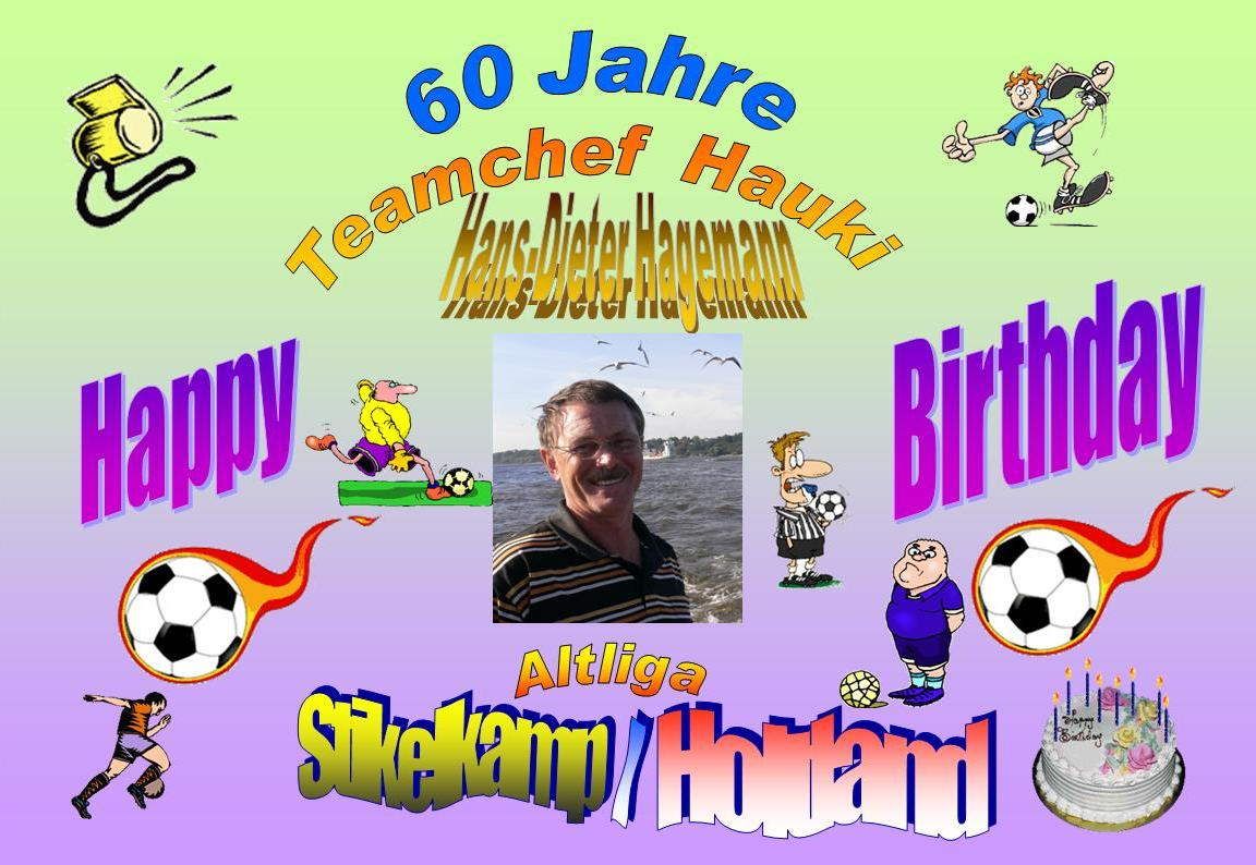 Geburtstag 60er chef