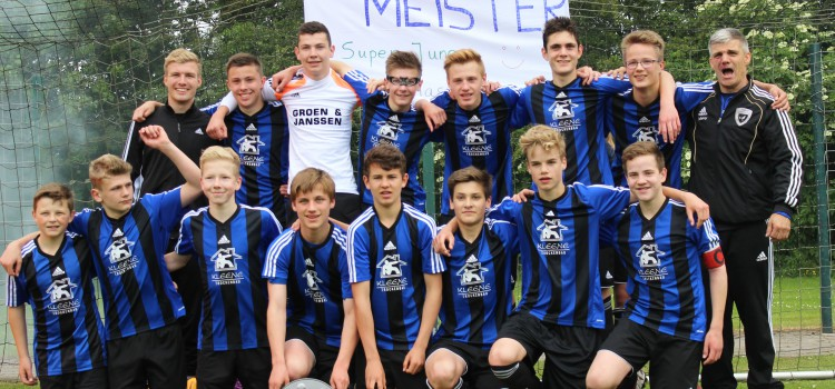 C-Jugend Meister 2015