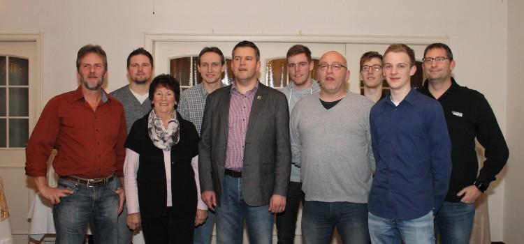 Wiederwahl des Vorstandes des SV Stikelkamp